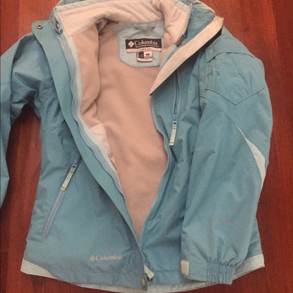 Women/'s Columbia Arch Cape III Jacket NEW 1X or Small Blue